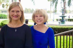 Eugenia Sefcik and Lynn Long   Orlando Land Trust